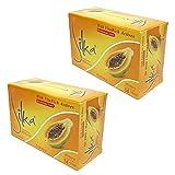 シルカ パパイヤ ソープ 135g Silka Papaya Soap (2個セット) 並行輸入品