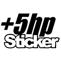 LGSMRP 車のステッカー、ステッカー12.5x7.4cmステッカービニールデカールカーステッカートラック窓面白いドリフトブラック/シルバーカーステッカー、ステッカー(カラー名:ブラック) LGSMRP (Size : Black)