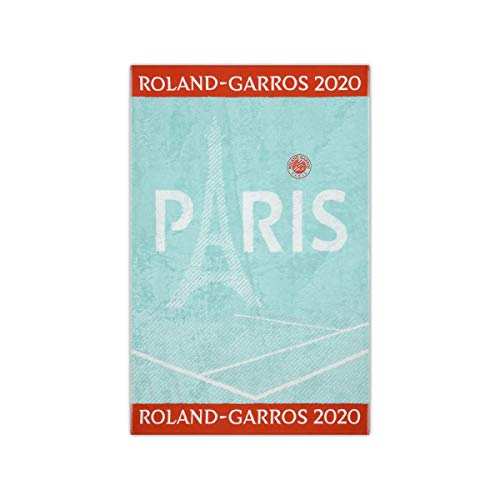 RG Roland Garros 2020 on Court Lady Tennis Handtuch Sport Handtuch