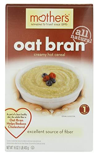 Mothers Cereal Hot Oat Bran 16 oz