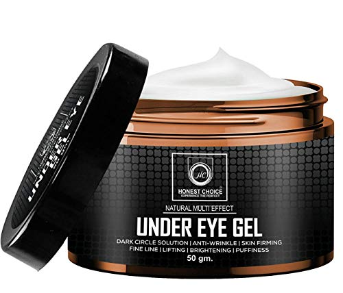 Honest choice Under Eye Cream for Dark Circle-50gm,Puffiness,Wrinkles,Bags,Skin,Firming,Fine Lines-The Best Natural Eye Gel Cream for Under and Around Eyes