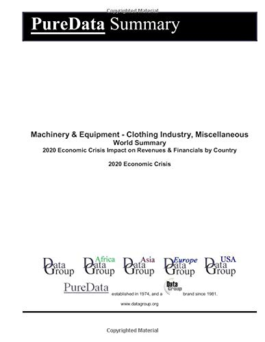 Machinery & Equipment - Clothing...