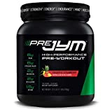 Pre Jym Pre Workout Powder - Bcaas, Creatine Hci, Citrulline Malate, Beta-Alanine, Betaine, & More | JYM Supplement Science | Pineapple Strawberry Flavor, 30 Servings