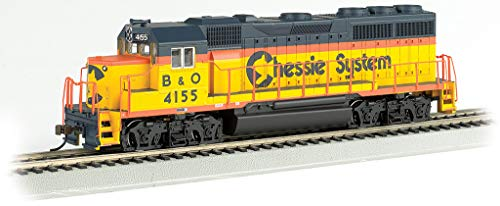 Bachmann Trains - EMD GP-40 DCC Ready Locomotive - Chessie #4155 - HO Scale (63533)