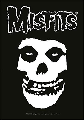 Misfits,Classic Fiend Skull, Fahne