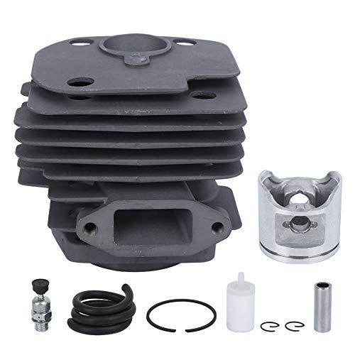 Kits de pistón de cilindro de sierra de cadena, repuesto para motosierra Husqvarna 365, herramienta de hardware, kits de tubería de combustible de pistón de cilindro, piezas de kit de cilindro