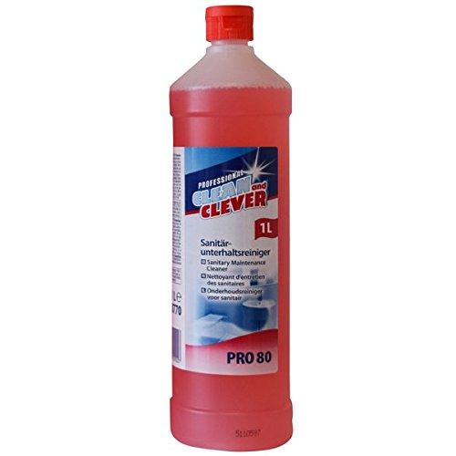 PRO80 Sanitärreiniger 1 l CLEAN and CLEVER