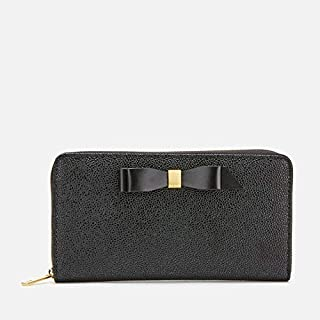 Ted Baker Womens Bow Leather Matinee Purse, Black - 155181