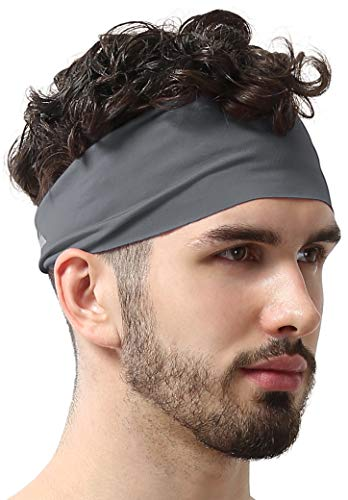 Mens Headband  Guys Sweatband amp Sports Headband for Running Working Out and Dominating Your Competition  Ultimate Performance Stretch amp Moisture Wicking