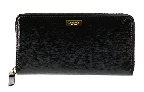 Kate Spade New York Bixby Place Neda Patent Leather Zip Around Wallet...