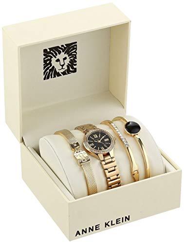 Women's Swarovski Crystal Accented Watch and Bracelet Set, AK/3582