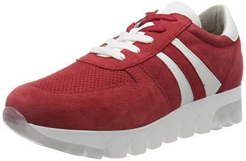 Tamaris Damen 1-1-23749-24 Sneaker, Rot (Lipstick Suede 579), 38 EU
