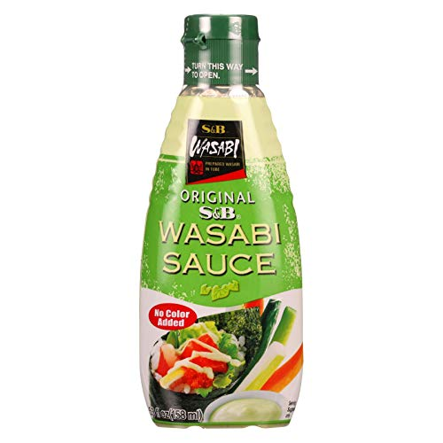 S and B Wasabi Sauce 53 Ounce  6 per case