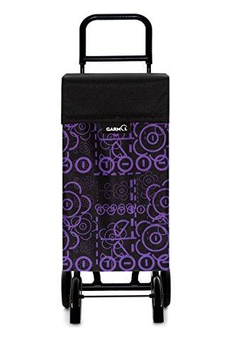 Garmol Love C587 10010GP16 Shopping Trolley with 4 Wheels modern 40x16x119 cm berry
