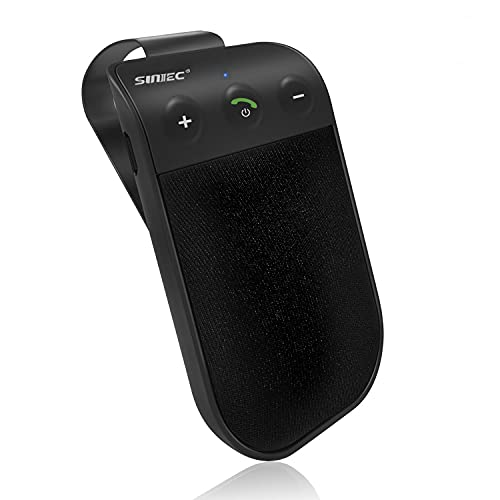 SUNITEC Handsfree Bluetooth for Cell Phone Car Kit - Bluetooth 5.0 Car...