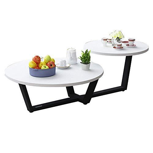 JINKEBIN Mesa plegable de Mesa baja moderna Mesa auxiliar tabla de la...