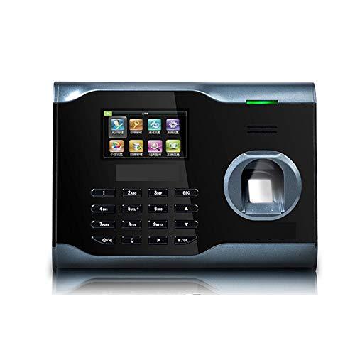 Máquina de control de acceso por huella dactilar b WifiTime la máquina de la red inalámbrica de la máquina del sacador de Huellas Biométrico de Identificación Time Clock Compruebe los registros de asi