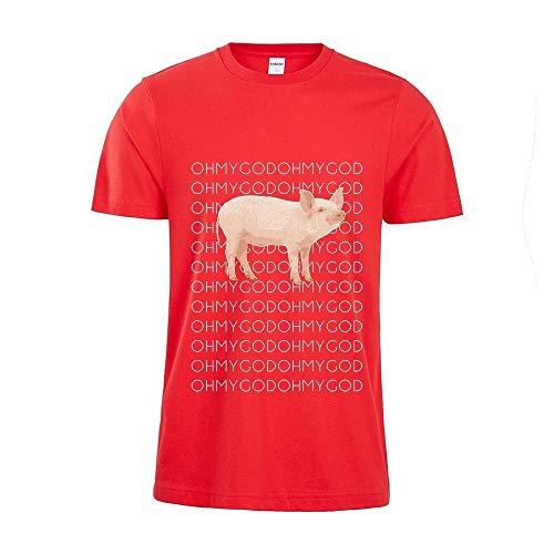 Shane Dawson Oh My God Pig OMG Funny YouTube Star Fan Men Women Unsex T-shirt