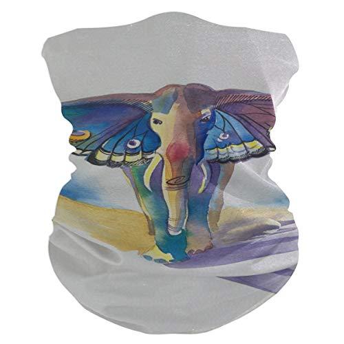 Outdoor Magic Stirnband Elefant Schmetterling Flügel Fantasy Animal Made Schal UV-Widerstand Sport Kopfbedeckung Serie Für Yoga Wandern Reiten Motorradfahren