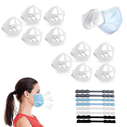 Viilich 10 x 3D-Innenhalter für bequemes Atmen, innere Stützhalterung unter dem Rahmen,...