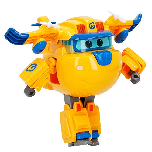 Super Wings - Figura Super Charge luz & Sonido, Donnie (ColorBaby 85396)