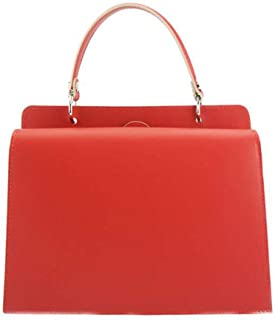 FLORENCE LEATHER MARKET Borsa donna a mano con tracolla in pelle 25x11x16 cm - Zama - Made in Italy