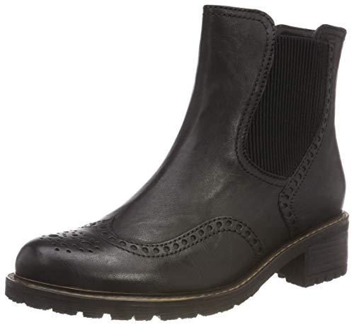 Gabor Shoes Damen Comfort Basic Chelsea Boots, Schwarz (Schwarz (Mel.) 17), 39 EU