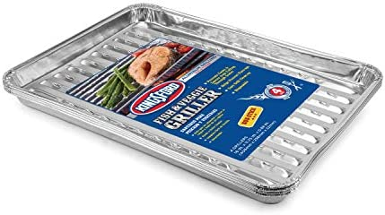 Kingsford Grilling Fish and Veggie Aluminum Grill Liners Premium BBQ Liners Prevent Food From product image