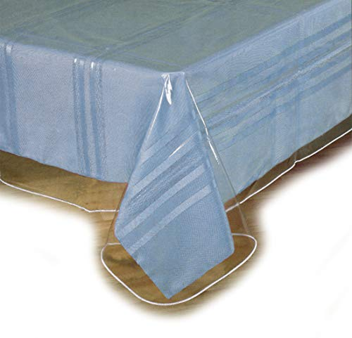 Clear Plastic Tablecloth Protector, Table Cloth Vinyl (60