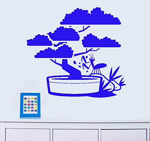 Hanjiming Welkomend Pine Potted Plants Muursticker Woonkamer Muursticker Vinyl Decal voor Kinderen Kamer Home Decor Stickers Gift