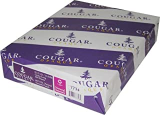 Limited Papers (TM) Cougar Opaque Cover White Smooth 65 Pount Cover 8.5