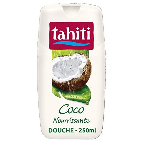TAHITI - Gel douche Tahiti Coco Nourrissante - pH Neutre - Enrichi d'agent hydratant - Flacon de 250 ml