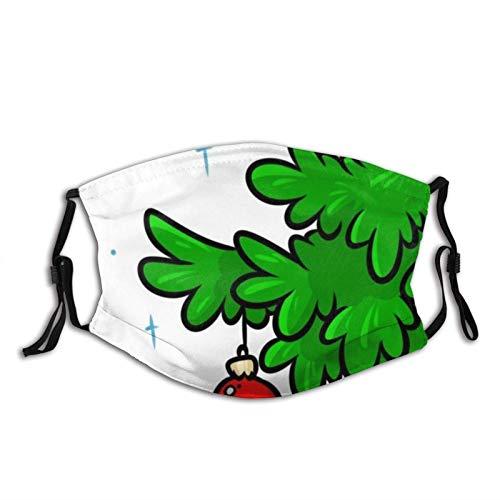 Cubierta facial lavable para la boca, antipolvo, rama de fotos, árbol de Navidad, bola de juguete, reutilizable, resistente al viento, para esquí, ciclismo, camping, correr, etc.