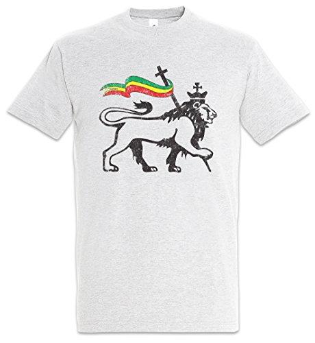 Urban Backwoods Lion of Judah II Camiseta De Hombre T-Shirt Gris Talla L