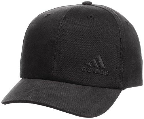 adidas 6Panel - Gorra, Niños, Negro (Black), S