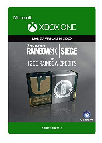 Tom Clancy's Rainbow Six Siege Currency pack 1200 Rainbow credits   Xbox One - Codice download