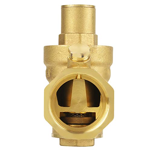 Reductor de presión, soporta la presión de la válvula reductora de presión de 1.6Mpa, duradero para el ahorro de espacio de ahorro de costos de distribución
