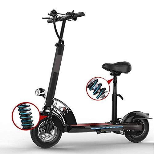 CSJD Mini elektrische step met twee wielen, super lange levensduur, inklapbaar, voor reizen en auto, elektrisch