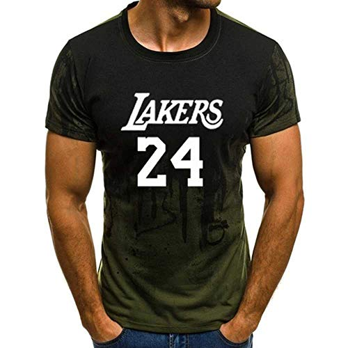 LANGY 2020 Nueva Camiseta Kobe Hombres Mujeres Verano
