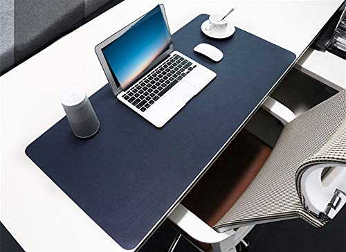 Insun duża podkładka na biurko, podkładka pod mysz, antypoślizgowa, skóra PU, podkładka pod mysz, wodoodporna podkładka na biurko, ochraniacz, gamingowa mata do pisania do biura, domu, na biurka