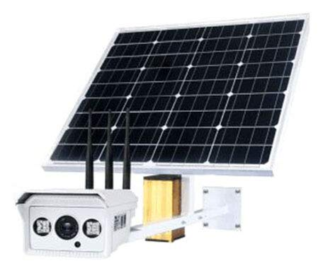 For Sale! Solar 4G Camera 1080P 5 Times Optical Zoom Motion Sensor activates Built-in 4G SD Card IP6...