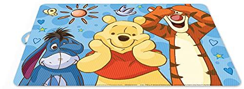 POS 68936 – Set de Table avec Motif Disney Winnie l'ourson coloré en Plastique pour garçons et Filles env. 42 x 29 cm sans BPA