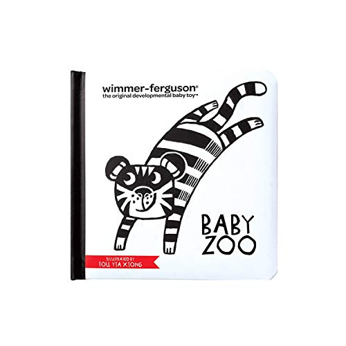 Manhattan Toy - 216880 - Wimmer-Ferguson Baby Zoo - Livre - 6 mois et plus - Multicolore - version anglaise