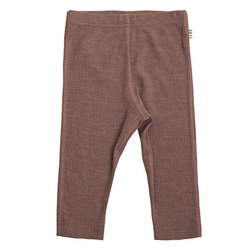 Joha Baby Jungen Mädchen Leggings Merinowolle/Seide, Größe:98/104, Farbe:Old pink