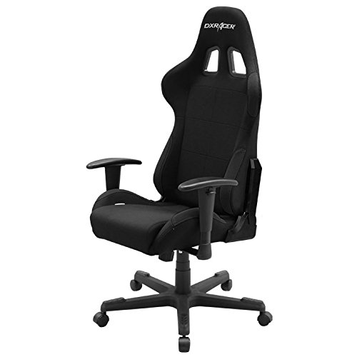 DXRacer OH/FD01/N Formula Series Black Gaming Chair - Includes 2 Free Cushions