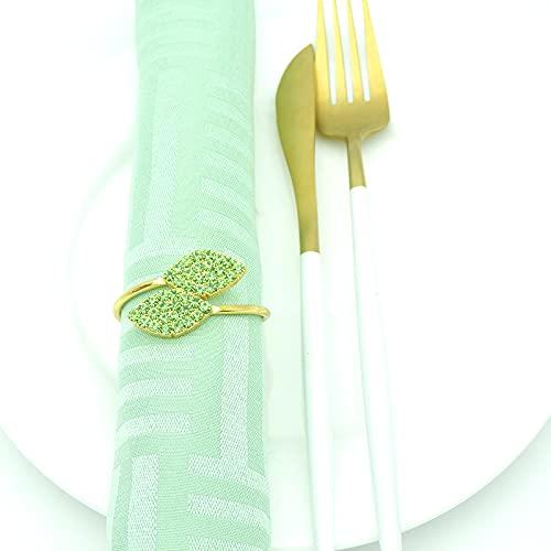 Servilletas de Pascua para decoración de mesa de Navidad, servilletas blancas, 12 unidades