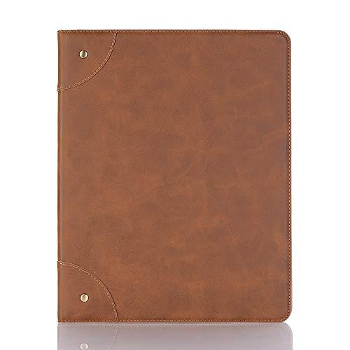 INorton - Funda Protectora para iPad Mini (Piel sintética, función Atril, Tarjetero), diseño Delgado