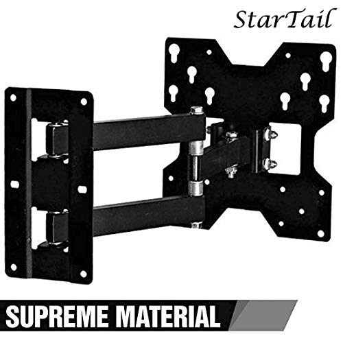 StarTail Full Motion TV Wall Mount Bracket for Most of 24-32 Inch LED, LCD, OLED, Flat Screen, Smart TV Full...