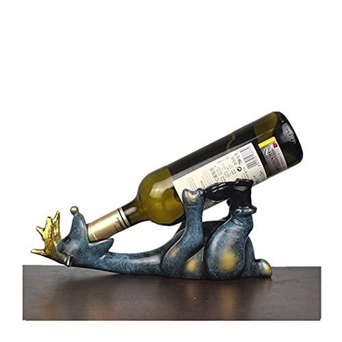 mygzq Resina Elk Botella de Vino Titular Durable Práctico Práctico Creativo Ciervo Ciervo Ornamento Animal Decoración Artesanal