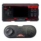 Dcolor Reproductores de Juegos PortáTiles Retro de 8 bits y 3 Pulgadas, Salida de TV AV, Juegos 1224 Integrados, Consola de Videojuegos FC3000 con Almohadilla